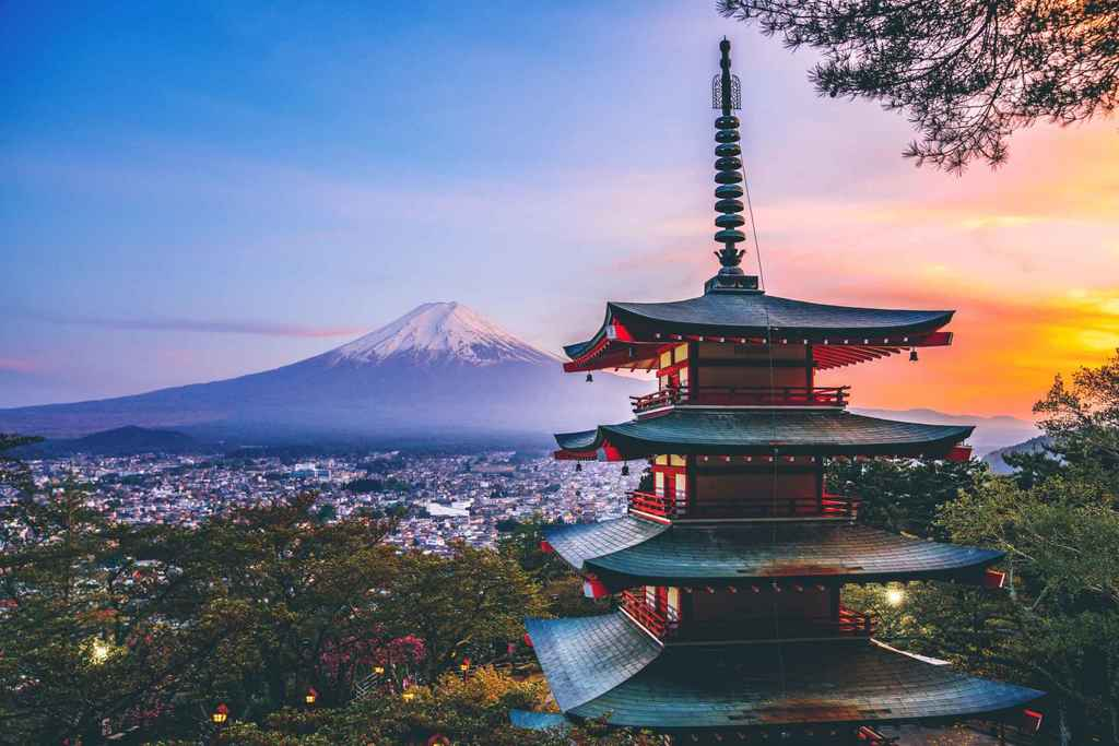 Japan Chureito Pagota by Reona Saito