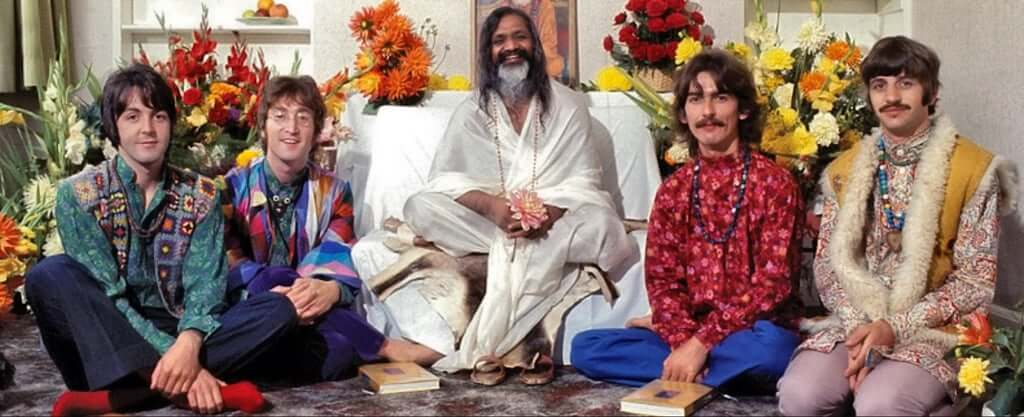 Beatles and Maharishi Mahesh Yogi
